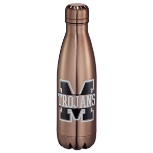 Copper Vacuum Insulated 17oz Water Bottle