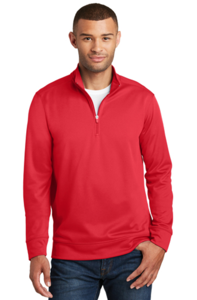 Port and Company 1/4 Pull Over Sweatshirt