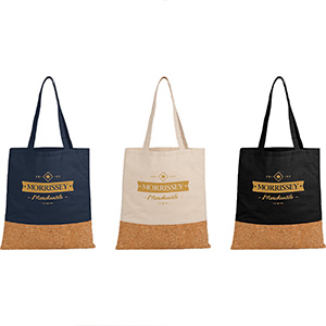 Cotton and Cork Convention Tote